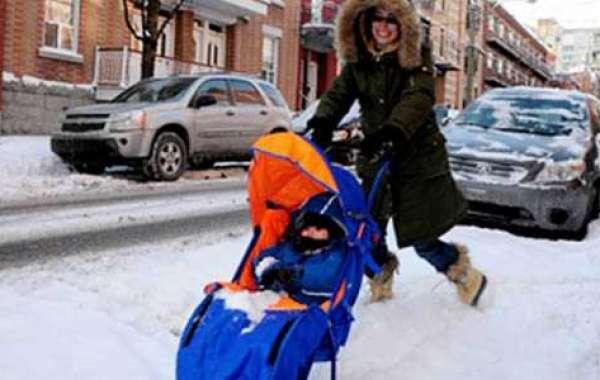 Что такое санки-коляски с колесиками и какие лучше выбрать для ребенка?