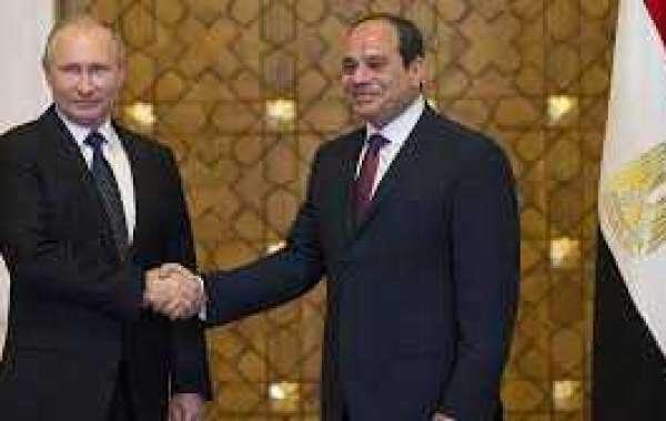 Встреча - переговоры Путина и президента Египта в Сочи 17 октября 2018 года: прямая видео - трансляция