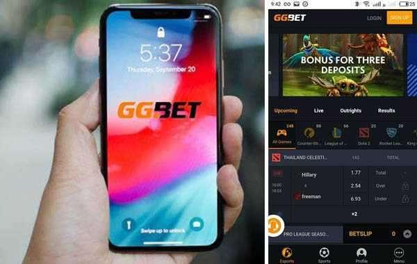 Мобильное приложение GGBET