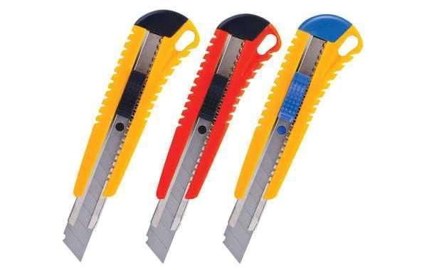 Канцелярские ножи для бумаги от компании SIMI