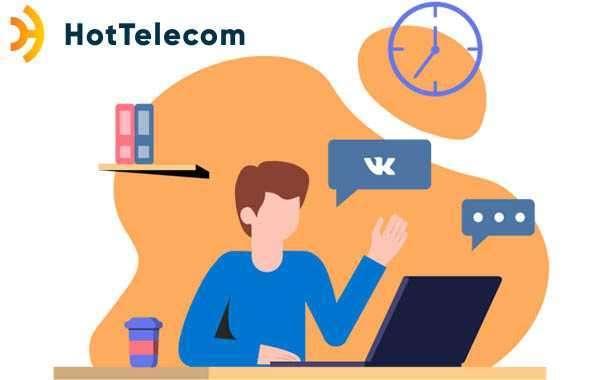 HotTelecom: виртуальный номер для ВК