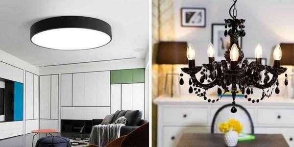 Как используются люстры и светильники?